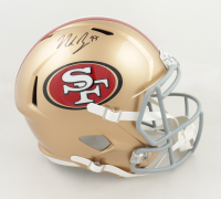 Nick Bosa Signed 49ers Full-Size Speed Helmet (Beckett Hologram) at PristineAuction.com