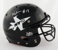 Keyshawn Johnson Signed Full-Size Authentic On-Field Helmet (Beckett COA) at PristineAuction.com