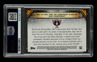 """Bret """"Hit Man"""" Hart Signed 2019 Topps WWE SummerSlam Mr. SummerSlam #MSS24 Bret """"Hit Man"""" Hart Def. Undertaker to Win the WWE Championship (PSA Encapsulated) at PristineAuction.com"""