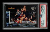 Kurt Angle Signed 2002 Fleer WWE Royal Rumble #46 (PSA Encapsulated) at PristineAuction.com