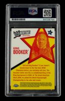 Booker T Signed 2007 Topps Heritage II Chrome WWE #31 King Booker (PSA Encapsulated) at PristineAuction.com