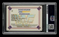 """Hacksaw"" Jim Duggan Signed 1991 Classic WWF Superstars #116 (PSA Encapsulated) at PristineAuction.com"