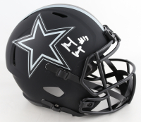 Michael Gallup Signed Cowboys Full-Size Eclipse Alternate Speed Helmet (JSA COA) at PristineAuction.com
