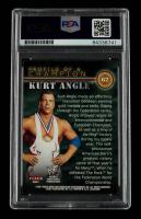 Kurt Angle Signed 2001 Fleer WWF Championship Clash #62 PC (PSA Encapsulated) at PristineAuction.com