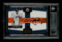 David Wright Signed 2005 Donruss Champions #194 (BGS Encapsulated) at PristineAuction.com