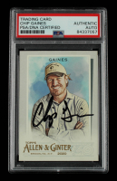 Chip Gaines Signed 2020 Topps Allen and Ginter #155 (PSA Encapsulated) at PristineAuction.com