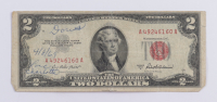 1953A $2 Two Dollar U.S. National Currency Red Seal Bank Note at PristineAuction.com