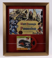 """""""Pinocchio"""" 17.5x20 Custom Framed Print Display with Vintage Film Reel at PristineAuction.com"""