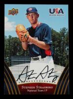 Stephen Strasburg 2008-09 USA Baseball Autographs Gold #79 at PristineAuction.com