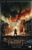 """Orlando Bloom Signed """"The Hobbit: The Battle of the Five Armies"""" 11x17 Photo (Beckett Hologram) at PristineAuction.com"""