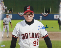 """Charlie Sheen Signed """"Major League"""" 11x14 Photo (Beckett Hologram) at PristineAuction.com"""