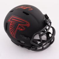 Michael Vick Signed Falcons Eclipse Alternate Speed Mini Helmet (Beckett Hologram) at PristineAuction.com