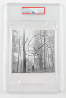 """Taylor Swift Signed """"Folklore"""" CD Disc Cover (PSA Encapsulated) at PristineAuction.com"""