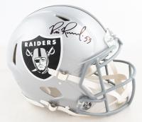 Bill Romanowski Signed Raiders Full-Size Authentic On-Field Speed Helmet (JSA COA) at PristineAuction.com
