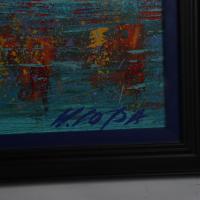 William Lopa Signed Michael Phelps 34x43 Custom Framed Print Display (PSA Hologram) at PristineAuction.com