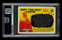"""Jerry """"The King"""" Lawler Signed 2006 Topps Heritage Chrome WWE #80 L Inscribed """"5/14/06"""" (PSA Encapsulated) at PristineAuction.com"""