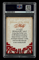 """Molly Holly Signed 2003 Fleer WWE Aggression Queens of the Ring #5 Inscribed """"8/2/03"""" (PSA Encapsulated) at PristineAuction.com"""