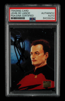 John de Lancie Signed 1994 Star Trek Master Series #47 Q (PSA Encapsulated) at PristineAuction.com