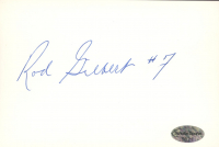 Rod Gilbert Signed 3.5x5 Cut (Schulte Sports Hologram) at PristineAuction.com