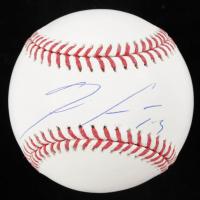Ronald Acuña Jr. Signed OML Baseball (Beckett Hologram) at PristineAuction.com