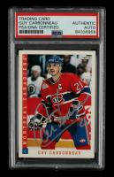 Guy Carbonneau Signed 1993-94 Score #51 (PSA Encapsulated) at PristineAuction.com