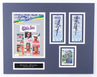 Minnie Minoso Multi-Signed White Sox 16x20 Custom Matted Display (JSA COA & Beckett LOA) at PristineAuction.com