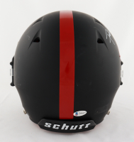 Frank Gore Signed Full-Size Authentic On-Field Matte Black Helmet (Beckett COA) (See Description) at PristineAuction.com