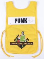 Fred Funk Signed Caddyforacure.com Vest (Schulte Hologram) at PristineAuction.com