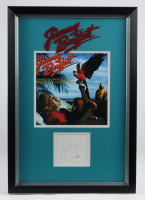 Jimmy Buffett Signed 14x20 Custom Framed Cut Display (JSA COA) at PristineAuction.com