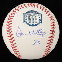 Don Mattingly Signed OML Yankee Stadium Logo Baseball (Schulte Hologram) at PristineAuction.com