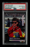 Jeff Gordon Signed 1995 Traks #26 (PSA Encapsulated) at PristineAuction.com