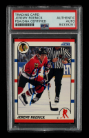 Jeremy Roenick Signed 1990-91 Score #179 RC (PSA Encapsulated) at PristineAuction.com