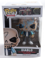 "Jay Hernandez Signed ""Suicide Squad"" #103 Diablo Funko Pop! Vinyl Figure (JSA COA) (See Description) at PristineAuction.com"