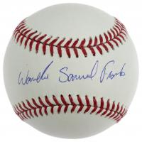 Wander Samuel Franco Signed OML Baseball (JSA COA & USA Sports Marketing Hologram) at PristineAuction.com