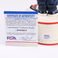 """Eric Bauza Signed Bugs Bunny U.S. Olympic Team Special Edition Figurine Inscribed """"Bugs Bunny"""" (PSA COA) at PristineAuction.com"""