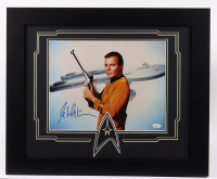 William Shatner Signed 20x24 Custom Framed Photo Display (JSA COA) at PristineAuction.com
