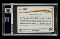 Jim Ross Signed 2014 Topps WWE #102 L (PSA Encapsulated) at PristineAuction.com