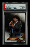 Jim Ross Signed 2016 Topps WWE #68 L (PSA Encapsulated) at PristineAuction.com
