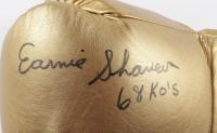 """Ernie Shavers Signed Title Boxing Glove Inscribed """"68 KO'S"""" (JSA Hologram) at PristineAuction.com"""