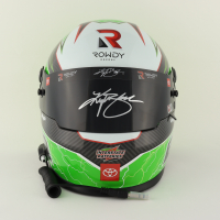 Kyle Busch Signed 2021 NASCAR Interstate Batteries Full-Size Helmet (PA COA) at PristineAuction.com