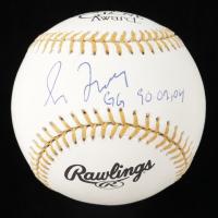 "Greg Maddux Signed Gold Glove Baseball Inscribed ""GG 90,02,04"" (Beckett COA & Maddux Hologram) at PristineAuction.com"