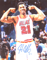 Hassan Whiteside Signed Heat 8x10 Photo (Hollywood Collectibles Hologram) at PristineAuction.com