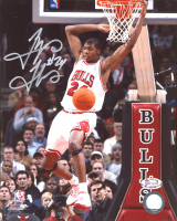 Tyrus Thomas Signed Bulls 8x10 Photo (Hollywood Collectibles Hologram) at PristineAuction.com