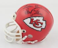 "Hank Stram Signed Chiefs Mini-Helmet Inscribed ""Super Bowl IV"" (Beckett COA) at PristineAuction.com"