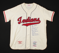 Lou Boudreau Signed Indians Jersey With Multiple Inscriptions (Beckett COA) at PristineAuction.com