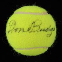 Don Budge Signed Tennis Ball (JSA COA) at PristineAuction.com