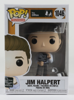 """Jim Halpert with Nonsense Sign - """"The Office"""" - Television #1046 Funko Pop! Vinyl Figure at PristineAuction.com"""