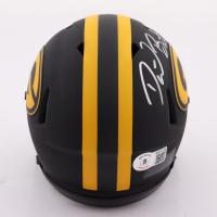 David Bakhtiari Signed Packers Eclipse Alternate Speed Mini Helmet (Beckett Hologram) at PristineAuction.com