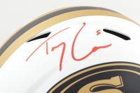 Trey Lance Signed 49ers Full-Size Lunar Eclipse Alternate Speed Helmet (Beckett Hologram) at PristineAuction.com