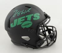 Zach Wilson Signed Jets Full-Size Eclipse Alternate Speed Helmet (Beckett Hologram) at PristineAuction.com